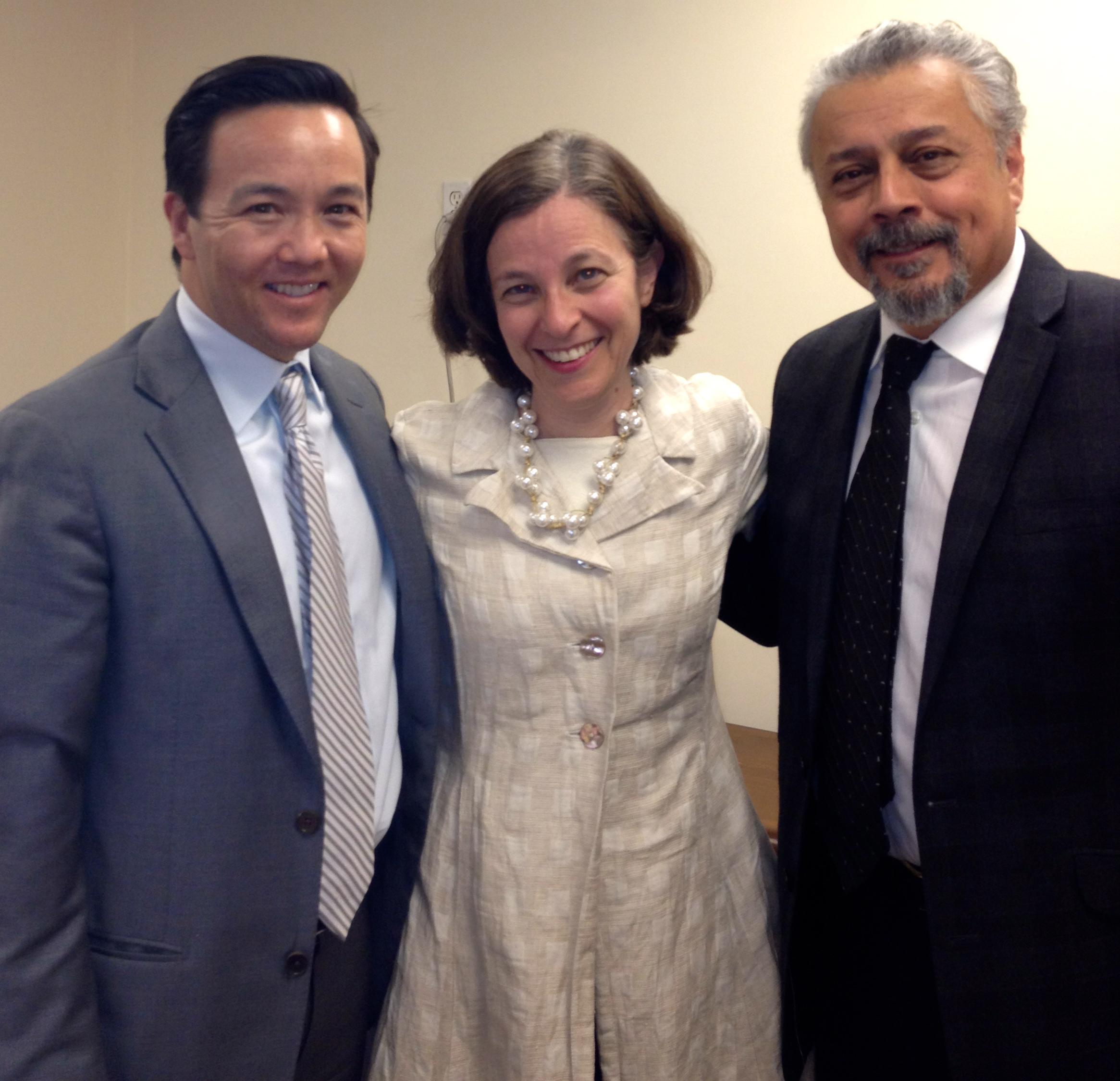 Meeting with Federal Reserve Governor Sarah Raskin